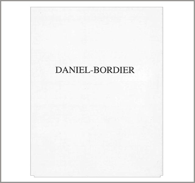 DANIEL BORDIER