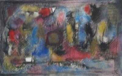 Reichel 1957 Composition n°43 Aq.20x31,5 SDbd