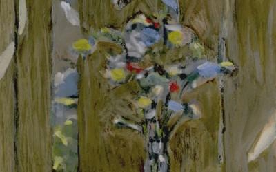 1980c-Fleurs-sur-fond-brun-
