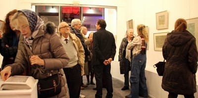 Vernissage de l'expo Hans Seiler