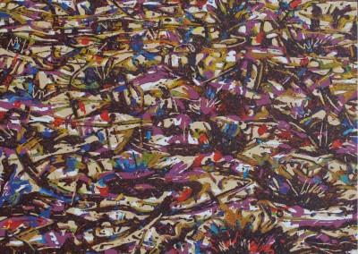 7-Mitte des Tages, öl auf leinwand, 180x 200 cm, 2011