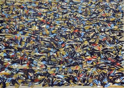 Schriften aus Susa,Öl auf Leinwand, 150x 200 cm,2011 Kopie 2