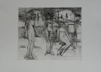 IM Les Trois Graces Engraving