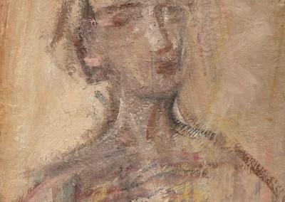 Melchior Auto portrait Huile 35x27cm