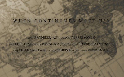 When continents meet n°2