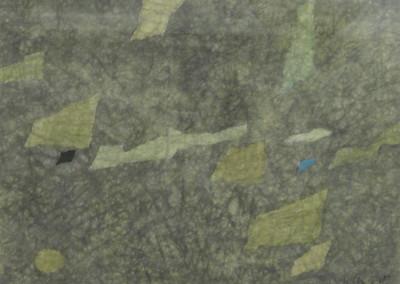 GSingier-Papier froissé-migration, sable, eau IV-1960 - copie