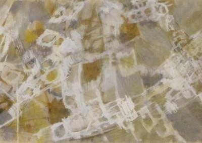 Anita de Caro-huées d'or-gouache(23x90)-1957 - copie