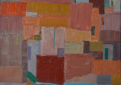 BLQ-27-huile sur toile , 40x40, 2010