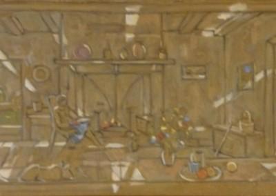 Hans Seiler-huile-sur-toile