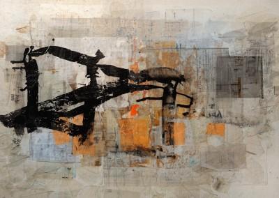 ZMD (80x130)-2015 Mixed Media on canvas- Nicol Rodriguez-93