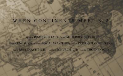 When continents meet n°2